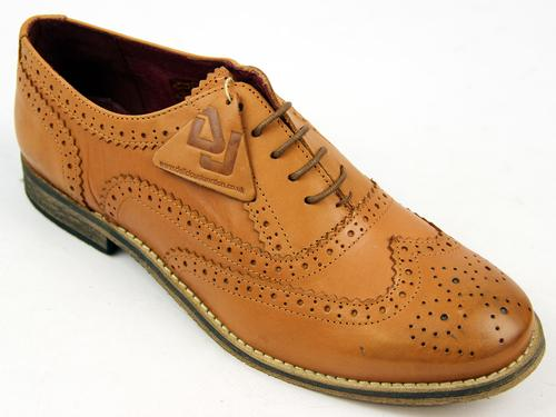 Sedgwick DELICIOUS JUNCTION Wingtip Brogues (Tan)
