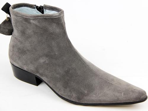 Ziggy DELICIOUS JUNCTION Cuban Zip Chelsea Boots G