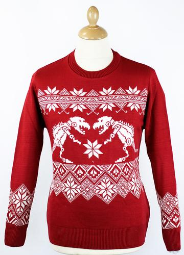 ugly christmas sweater dinosaur pullover - Dinosaur Christmas Sweater
