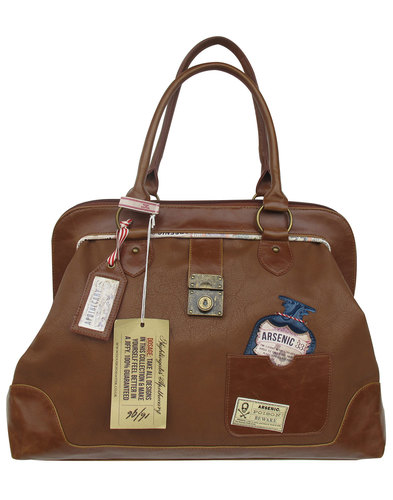 Apothecary DISASTER DESIGNS Overnight Holdall Bag