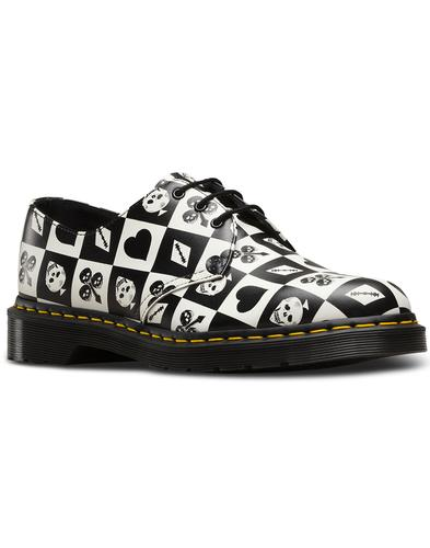 1461 DR MARTENS Women's Retro Playing Card Shoes