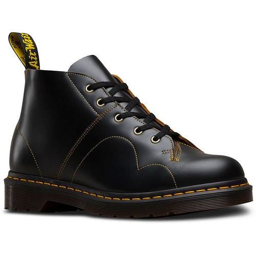 eccitazione Potente Attivo  Dr Martens Church Retro 60's Mod Monkey Boots in Black