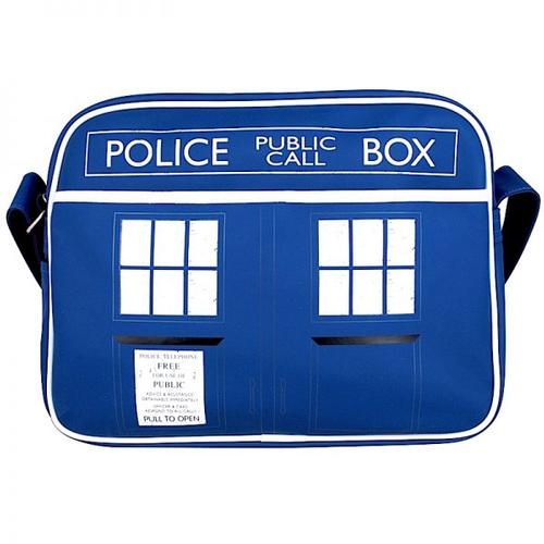 RETRO DR WHO TARDIS SHOULDER BAG