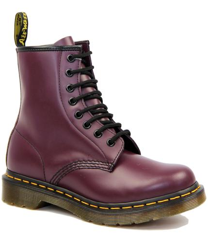 DR MARTEN BOOTS WOMENS PURPLE 1460 BOOTS