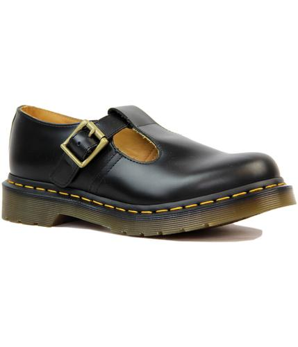 DR MARTENS WOMENS RETRO 60s MARY JANE T-BAR SHOES