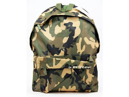 DUNLOP Retro Indie Canvas Sport Camo Back Pack (G)