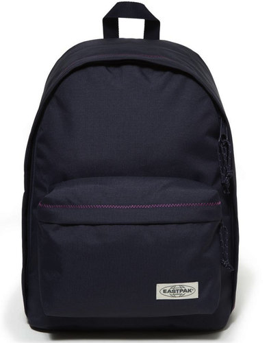 Out Of Office EASTPAK Navy Stitch Laptop Backpack