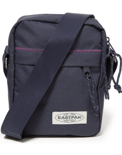 The One EASTPAK Retro Navy Stitched Zip Mini Bag