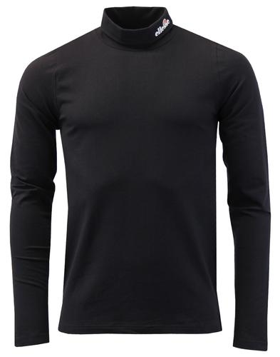 Amico ELLESSE Men's Retro Mod Roll Neck Jersey Top