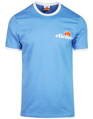 Arigento ELLESSE Men's Retro Ringer Tee LAKE BLUE
