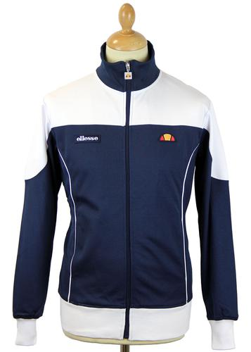 ELLESSE BORDONI RETRO 80s PANEL TRACK JACKET