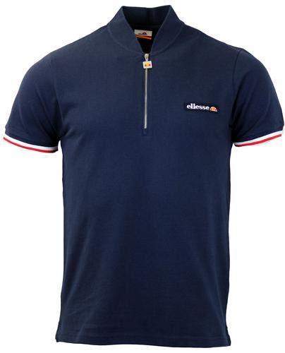 ELLESSE RETRO MOD CYCLING TOP NAVY