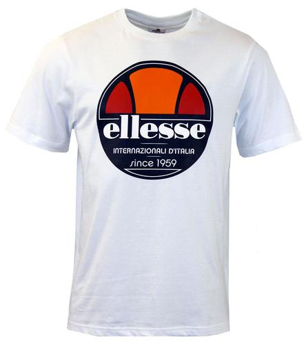 Bergamo (OW) Retro Logo ELLESSE T-Shirt In White
