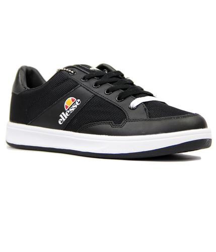 Pavia ELLESSE Retro 1980s Leather & Mesh Trainers