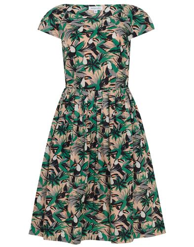 Claudia EMILY AND FIN Retro Toucans Summer Dress
