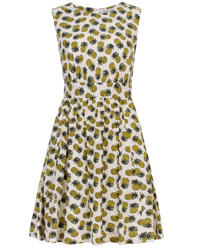 Lucy EMILY & FIN 50s Pineapple Punch Summer Dress