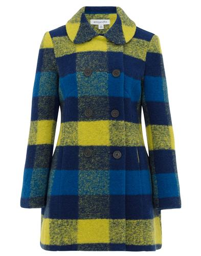 Lydia EMILY AND FIN Retro Vintage Wool Winter Coat