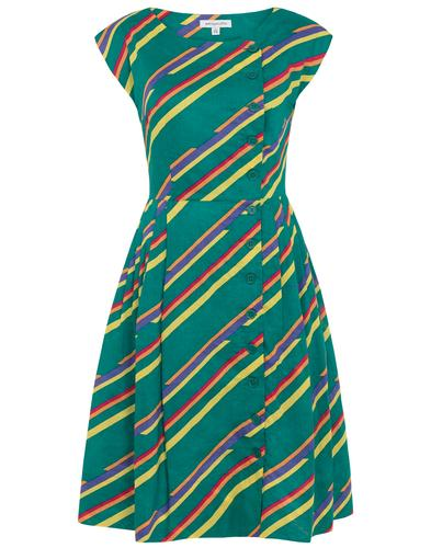 Nancy EMILY AND FIN Retro Flash of Brights Dress