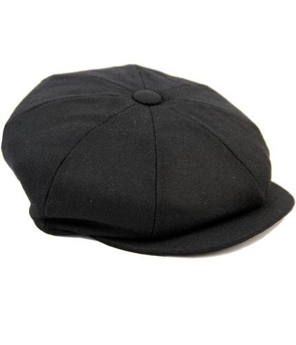 Alfie FAILSWORTH Retro 8 Panel Melton Gatsby Cap