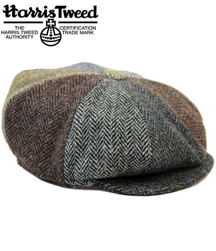 Lewis FAILSWORTH Retro Harris Tweed 8 Panel Hat
