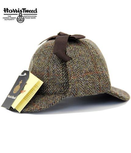 81e436a271e FAILSWORTH Sherlock Retro Harris Tweed Deestakler Hat