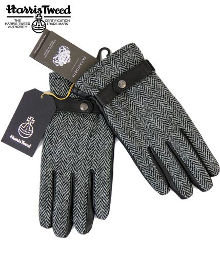 FAILSWORTH Harris Tweed & Leather Retro 70s Gloves