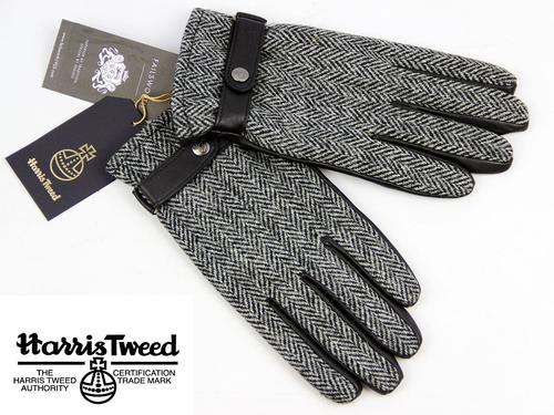 FAILSWORTH RETRO HARRIS TWEED MENS GLOVES