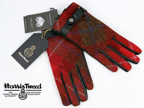 FAILSWORTH RETRO HARRIS TWEED WOMENS GLOVES