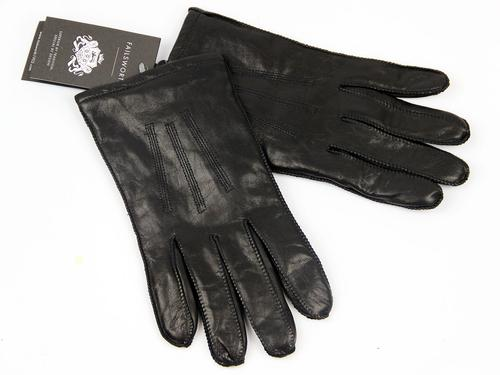 George FAILSWORTH Retro 70s Vintage Leather Gloves