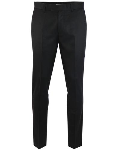 Sandfield FARAH Retro Slim Textured Suit Trousers