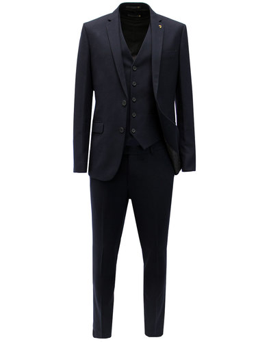 Hampton FARAH Retro 70s Hopsack 2 or 3 Piece Suit