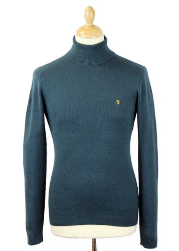 The Hartwell FARAH VINTAGE Mod Roll Neck Jumper G