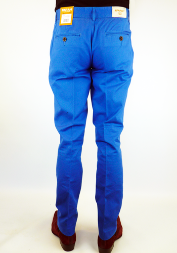 The Terrence FARAH VINTAGE Retro Mod Slim Chinos A