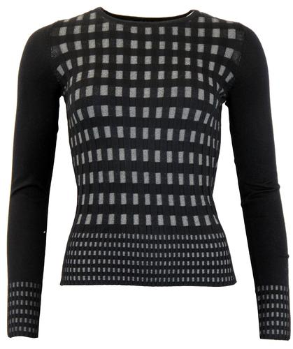 FEVER RETRO MOD CARNABY JUMPER SWEATER