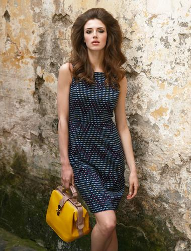 Hirst Dress FEVER Retro 60s Mod Shift Dress