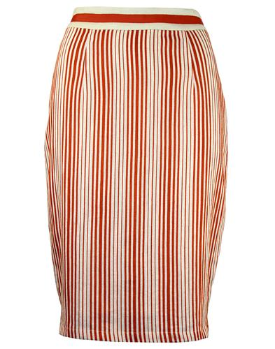 FEVER DRESSES RETRO MOD VINTAGE PENCIL SKIRT