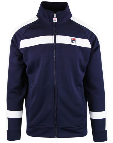 Renzo FILA VINTAGE Retro Block Panel Track Top (P)