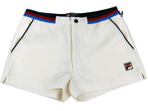 High Tide FILA VINTAGE Retro 70s Tennis Shorts (G)