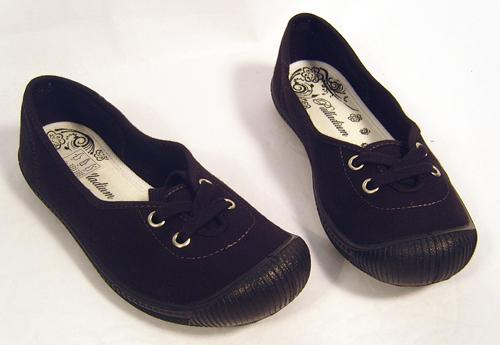 'Flace' - Retro Womens Flats by PALLADIUM (B)