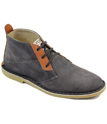 Montana FLY53 Retro Suede & Leather Desert Boots