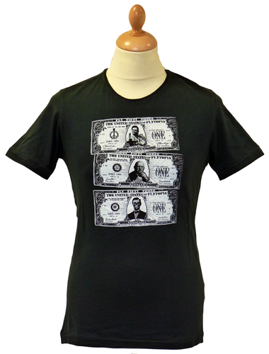 53 Dollars FLY53 Retro Indie Johnny Cash T-Shirt