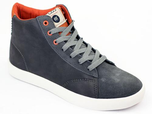 Jilted Hi FLY53 Retro Indie High Top Trainers (G)