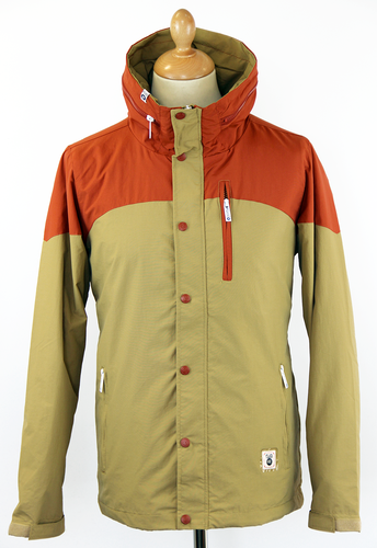Tyrus FLY53 Retro 70s Colour Block Indie Jacket