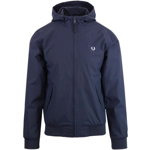 Hooded Brentham FRED PERRY Retro Jacket (Airforce)