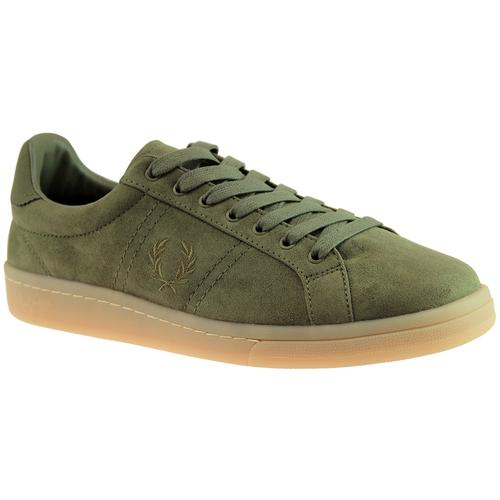 FRED PERRY B721 Retro Microfibre Tennis Trainers O