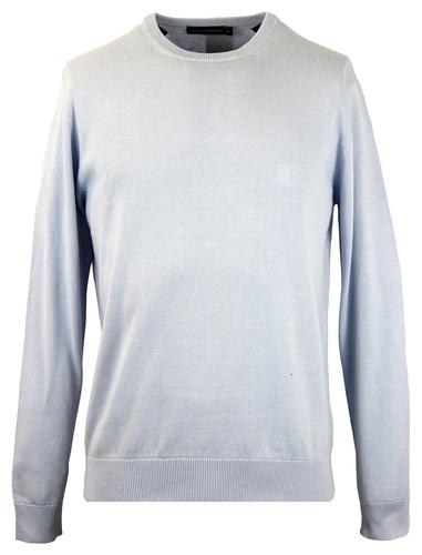 FRENCH CONNECTION RETRO CLASSIC CREW NECK COLD SKY