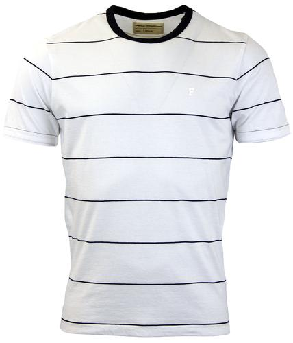 Iteso FRENCH CONNECTION Peached Stripe T-Shirt