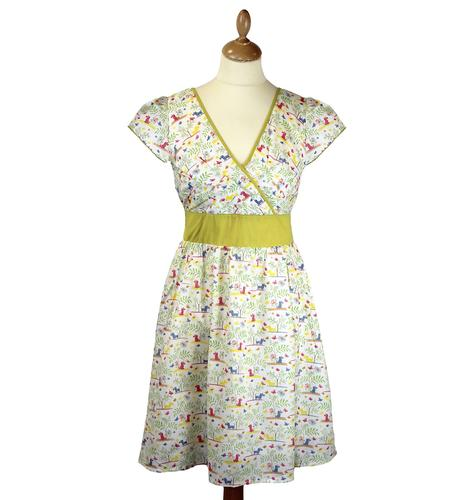 FRIDAY ON MY MIND BONNIE RETRO 1950S DRESS