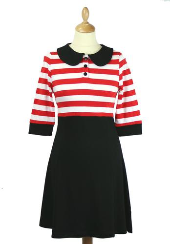 FRIDAY ON MY MIND LESLEY DRESS RETRO 60s MOD DRESS