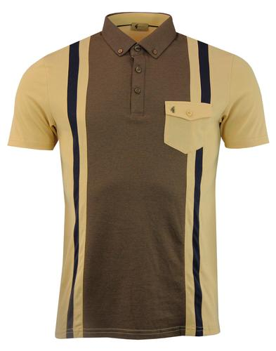 Contour GABICCI VINTAGE Stripe Panel Pocket Polo